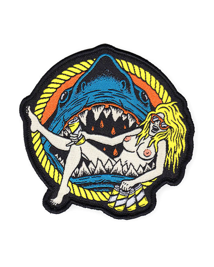 Shark Babe Patch-Night Watch Studios-Strange Ways