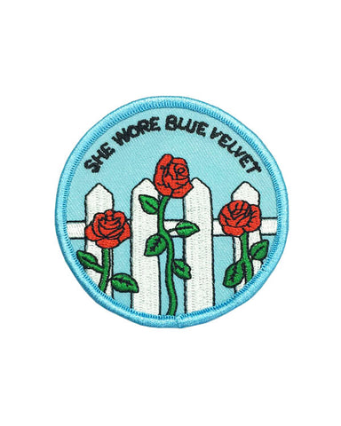 She Wore Blue Velvet Patch
