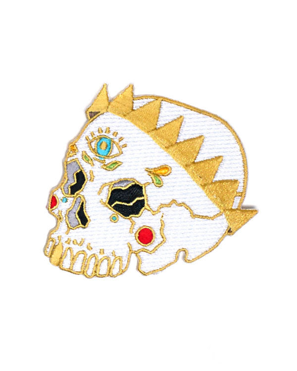 Skull Crown Patch-Ashlea Bechaz-Strange Ways