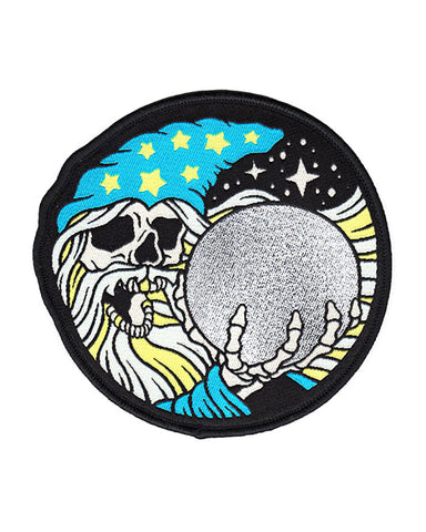 Skull Wizard Patch