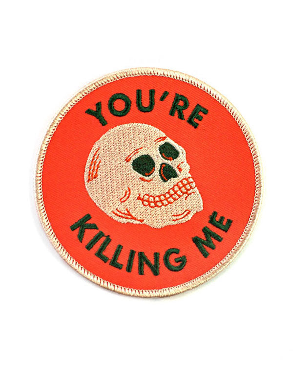 You're Killing Me Patch-Badaboöm Studio-Strange Ways