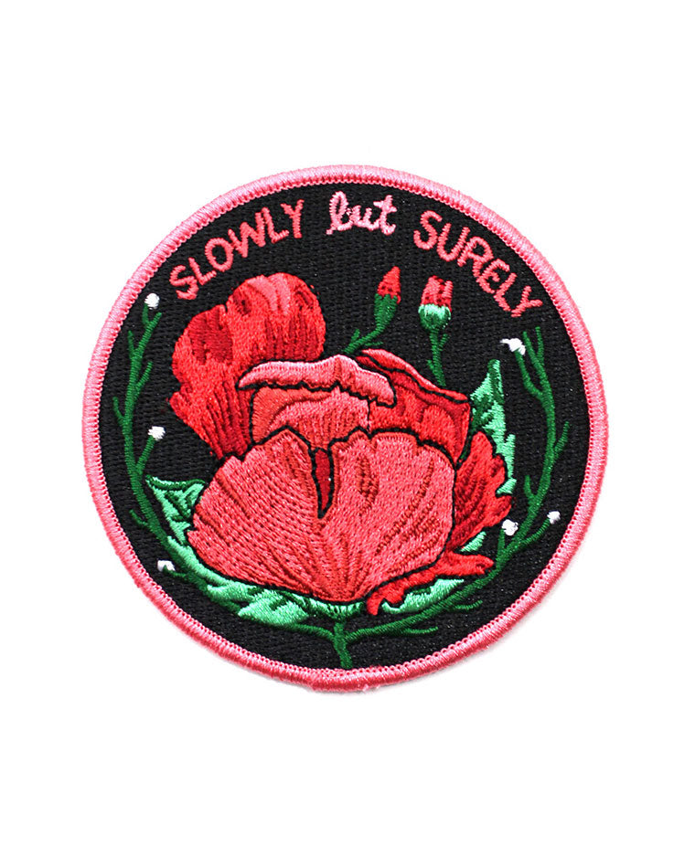 Slowly But Surely Patch-Stay Home Club-Strange Ways