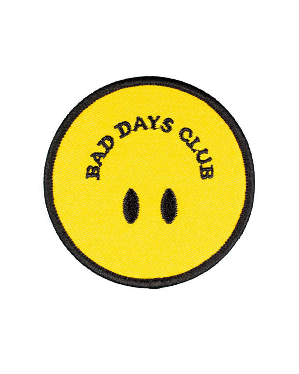 Bad Days Club Smiley Patch-Bad Days Club-Strange Ways