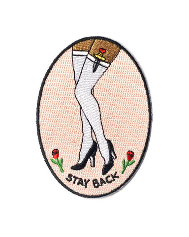 Stay Back Patch