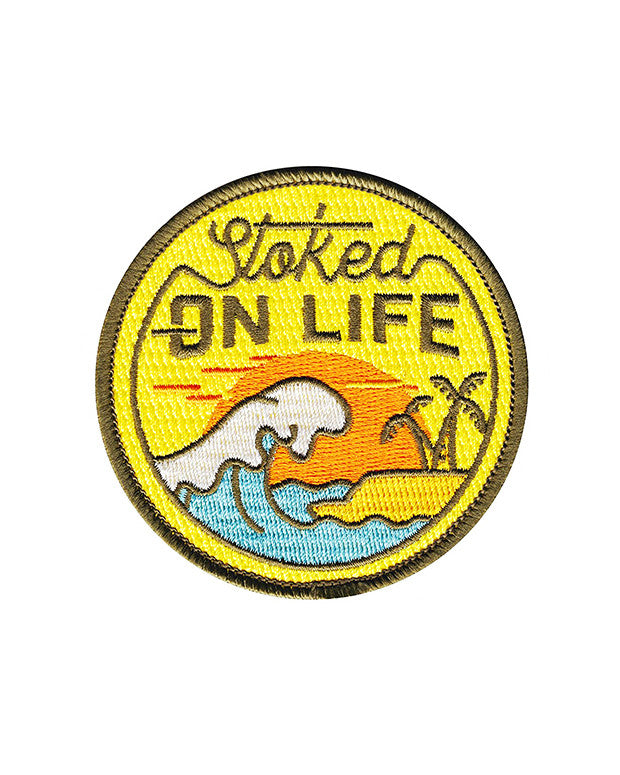 Stoked On Life Beach Patch-Asilda Store-Strange Ways