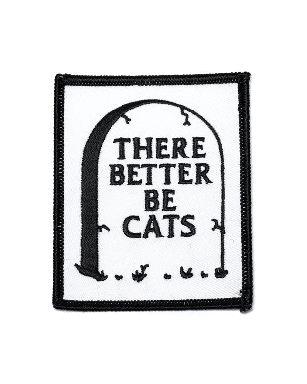 There Better Be Cats Patch-Monsters Outside-Strange Ways