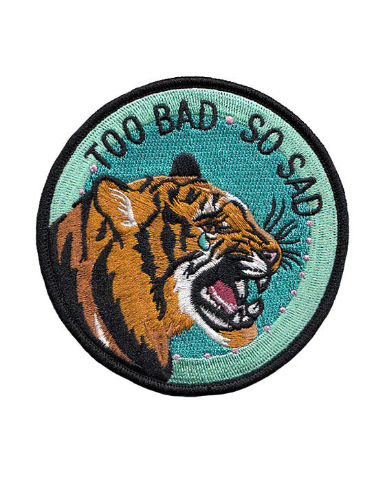 Too Bad, So Sad Tiger Patch-Stay Home Club-Strange Ways