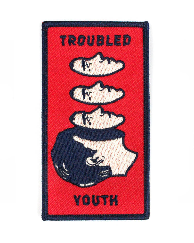Troubled Youth Patch-Badaboöm Studio-Strange Ways