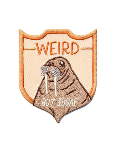 Weird But IDGAF Walrus Patch