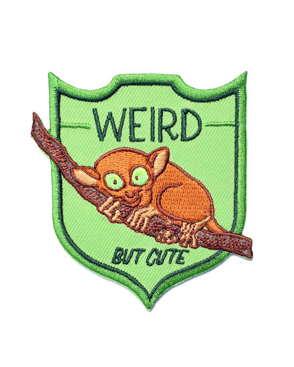 Weird But Cute Tarsier Patch-Frog and Toad Press-Strange Ways
