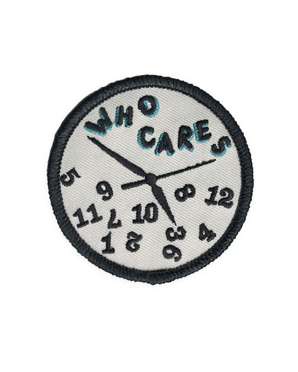 Who Cares Lazy Clock Patch-M. Carter-Strange Ways