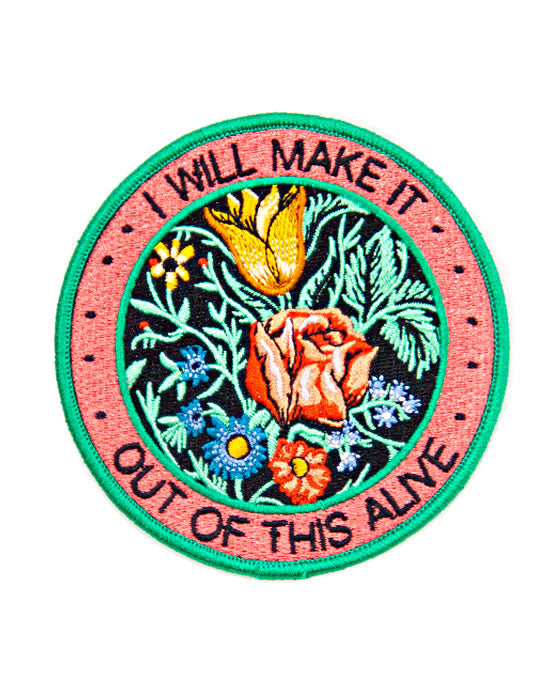 I Will Make It Out Of This Alive Patch-Stay Home Club-Strange Ways