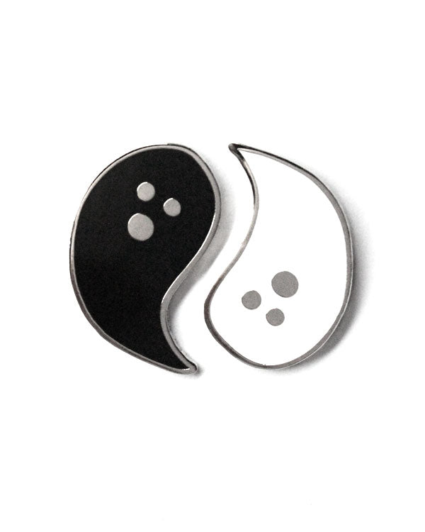 Yin Yang Ghosts Pin Set-Band Of Weirdos-Strange Ways