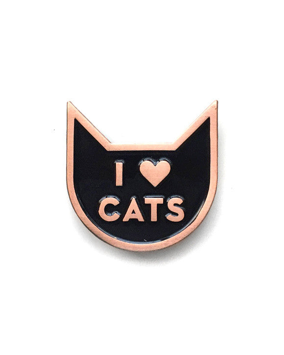 I Heart Cats Pin-These Are Things-Strange Ways