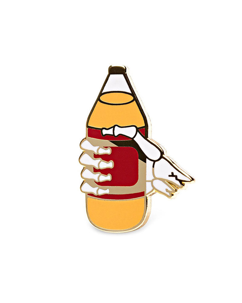 40oz Beer Pin-Mean Folk-Strange Ways
