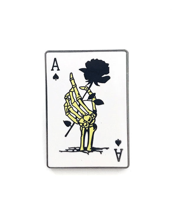 Ace Playing Card Pin-Strike Gently Co.-Strange Ways