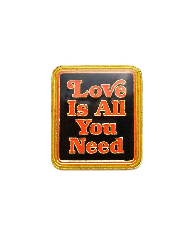 Love Is All You Need Pin-Lucky Horse Press-Strange Ways