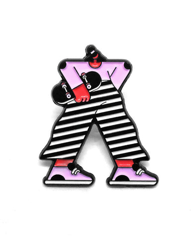 Eva Skater Girl Pin