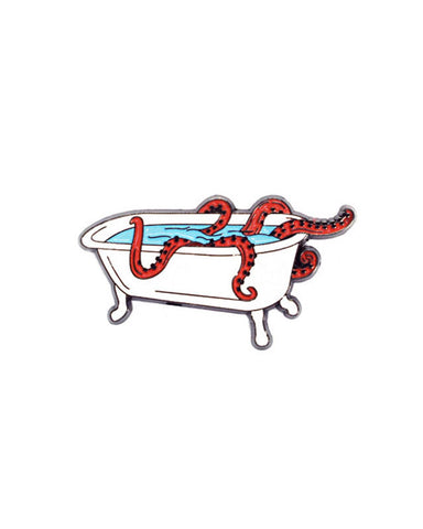 Tentacles Bathtub Pin
