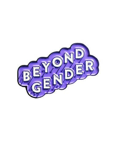 Beyond Gender Pin - Purple