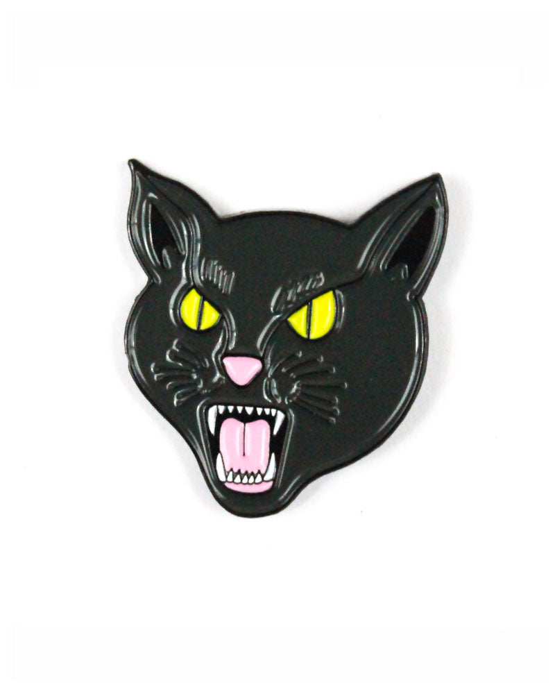Black Cat Pin-Felt Good Co.-Strange Ways