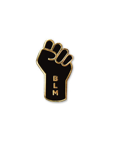 Black Lives Matter (BLM) Fist Resist Pin