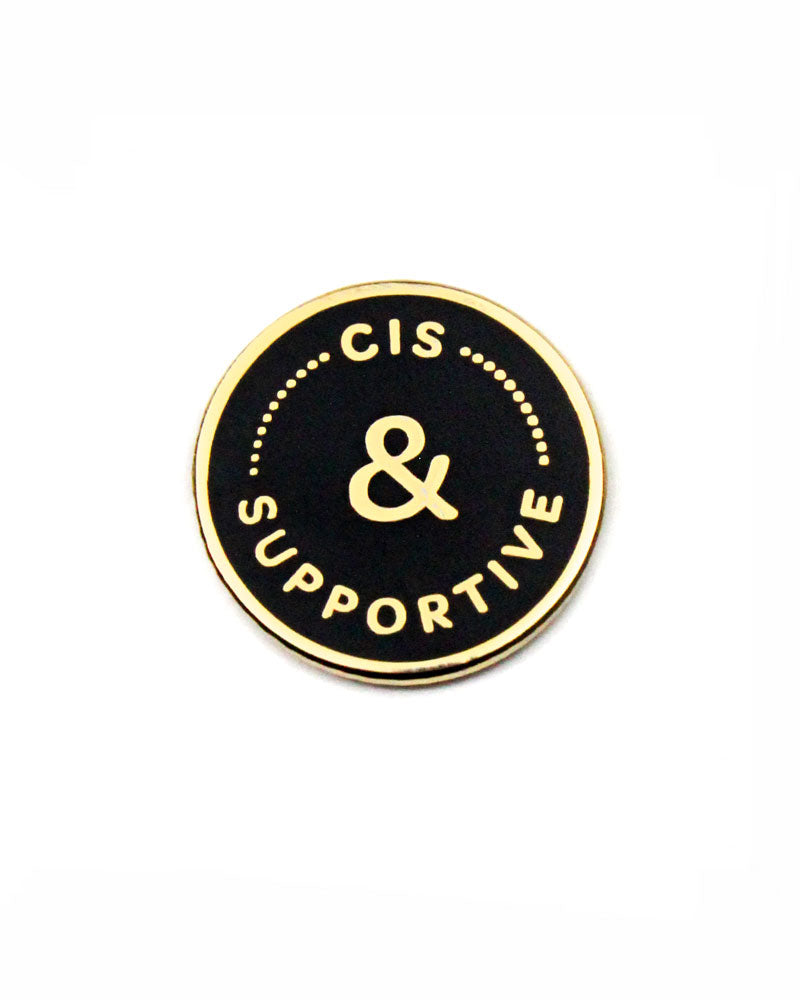 Cis & Supportive Pin-A Fink & Ink-Strange Ways
