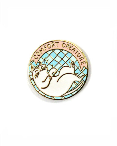 Comfort Creature Cat Pin