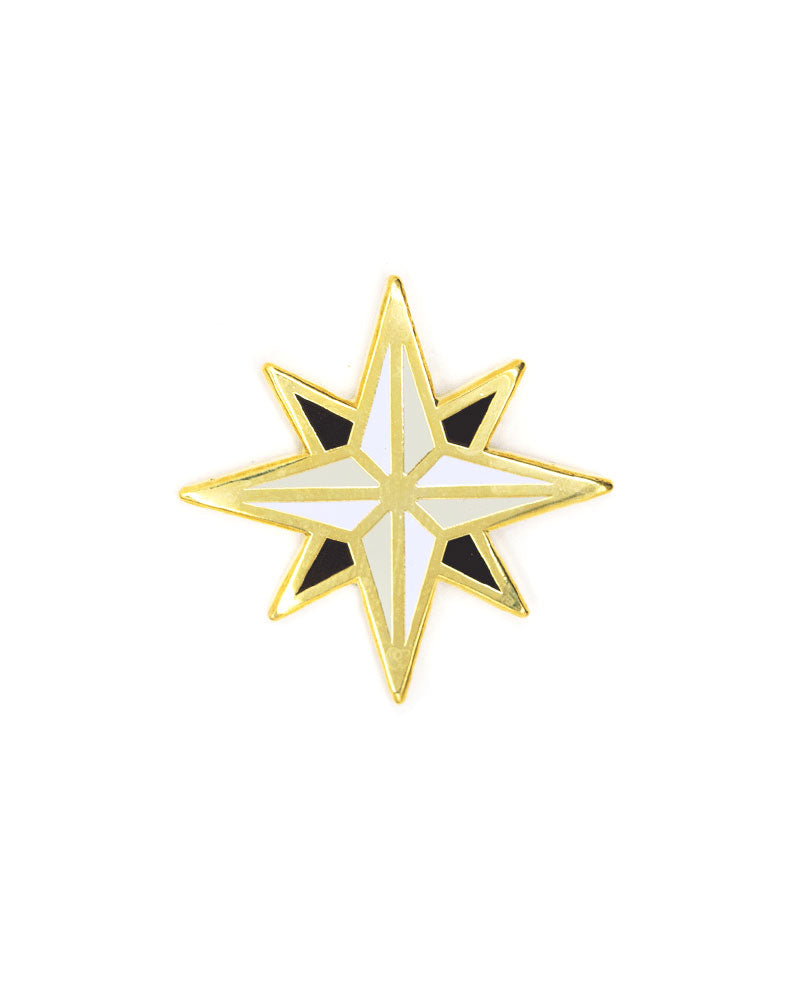 Compass Rose Pin-These Are Things-Strange Ways