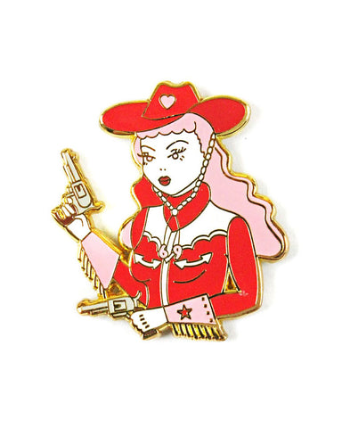 Cowgirl Lola Pin