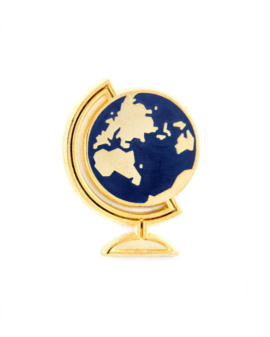 Desk Globe Pin-These Are Things-Strange Ways