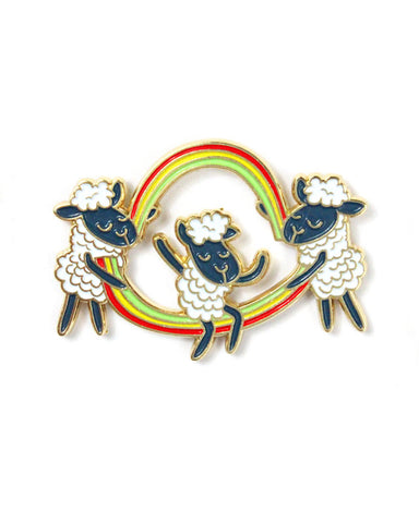 Double Dutch Rainbow Pin
