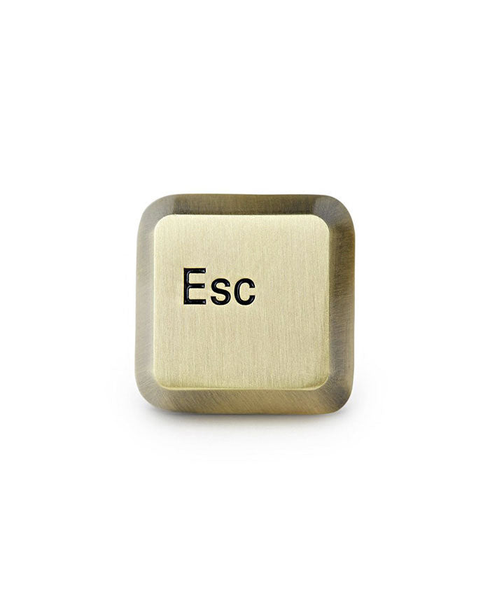 Esc Key Pin-Mean Folk-Strange Ways