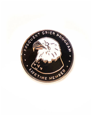 Frequent Crier Program Pin