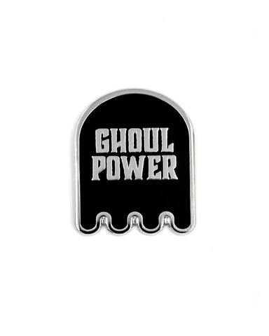 Ghoul Power Ghost Pin
