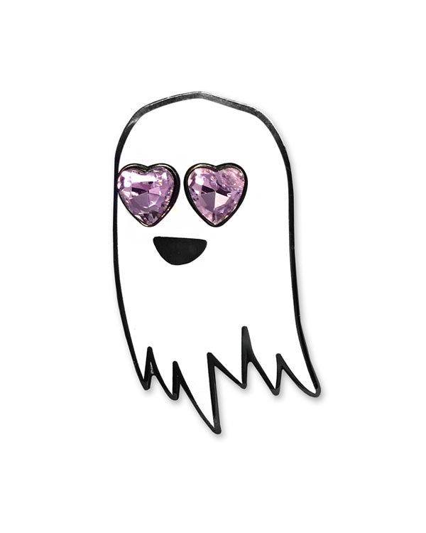 Happy Ghost In Love Pin-Sara M. Lyons-Strange Ways