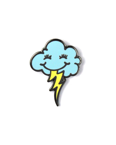 Cloudy Daze Pin