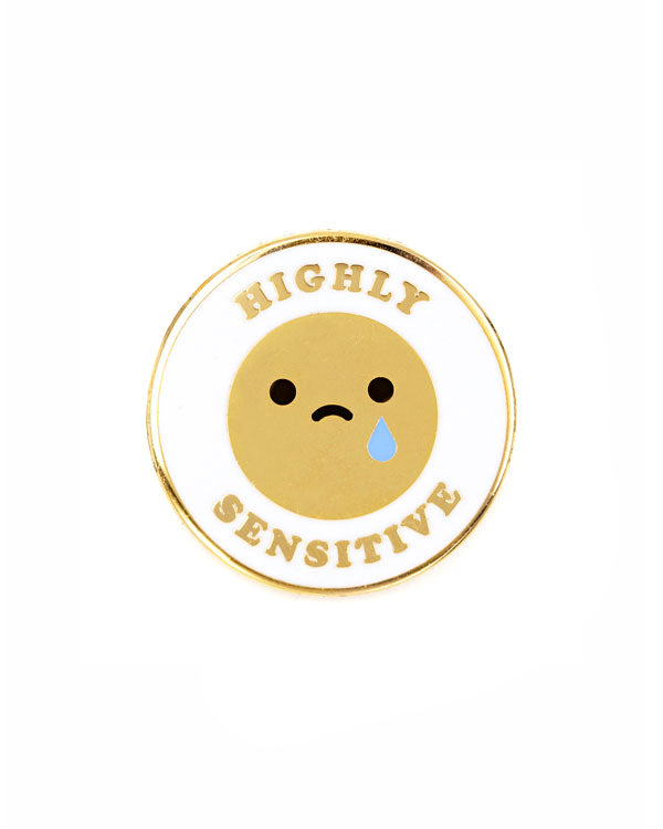 Highly Sensitive Pin-These Are Things-Strange Ways