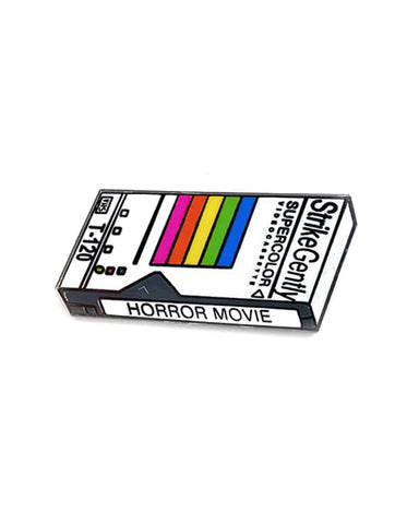 Horror Movie VHS Pin