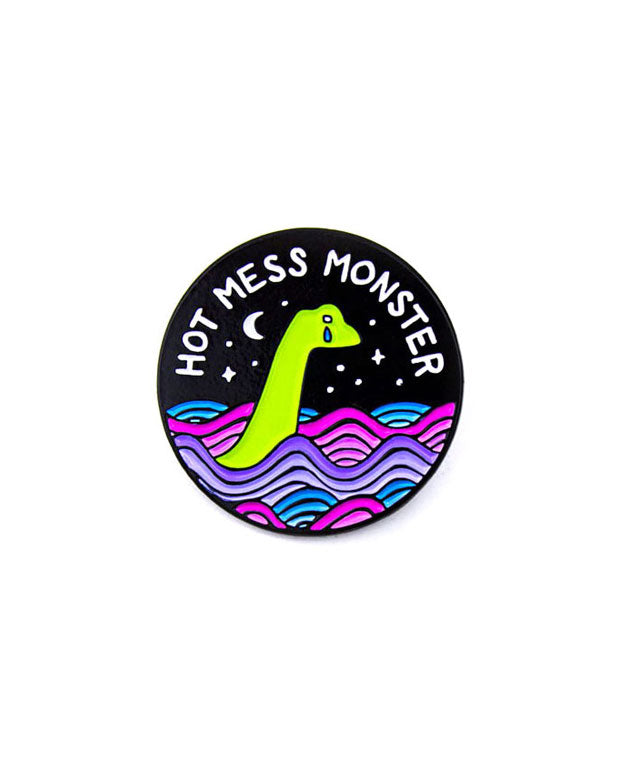 Hot Mess Monster Pin-Band Of Weirdos-Strange Ways