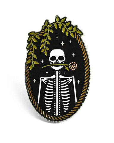 Jackie Skeleton Large Pin