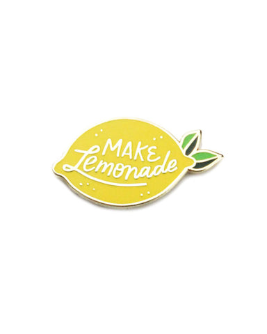 Make Lemonade Lemon Pin