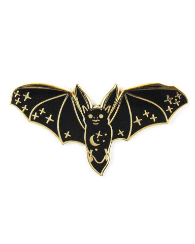 Magical Flying Bat Pin