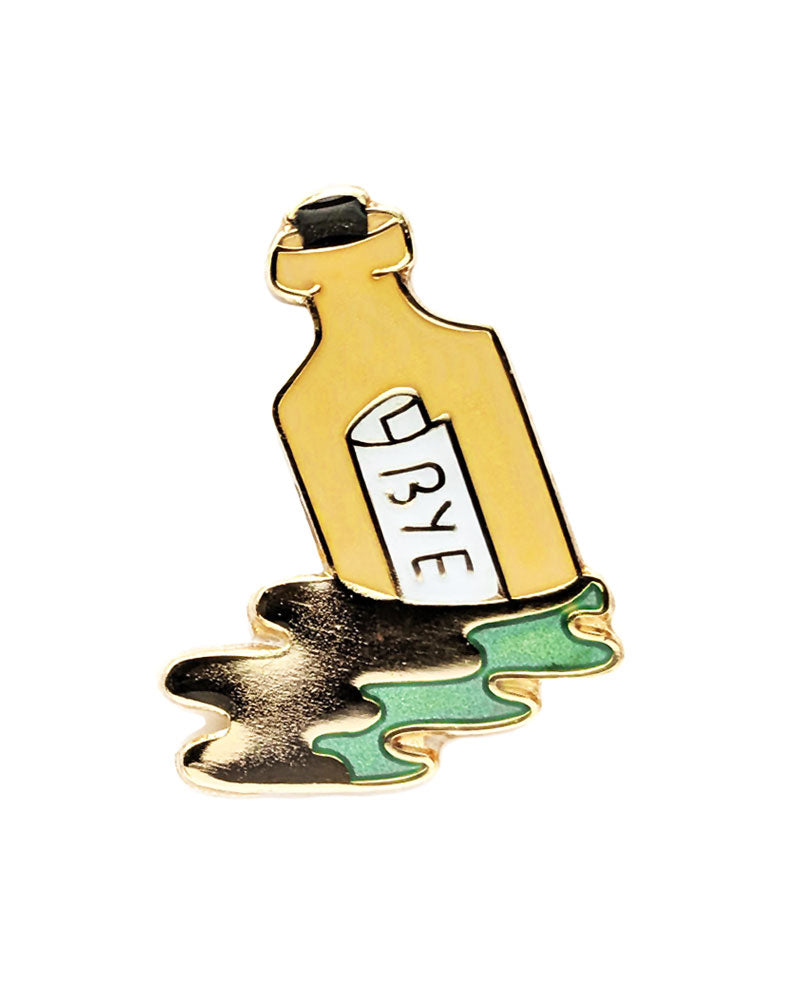 Message In A Bottle Pin-Brandy Bingham-Strange Ways