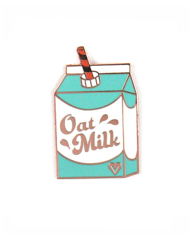 Oat Milk Pin