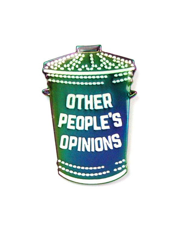 Other People's Opinions Pin-Hand Over Your Fairy Cakes-Strange Ways