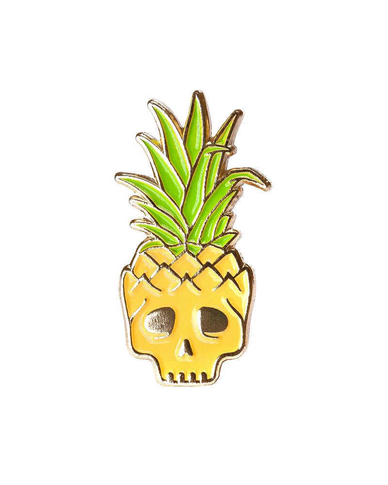 Pineapple Skull Pin-Mean Folk-Strange Ways