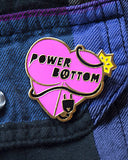 Power Bottom Pin-GAYPIN'-Strange Ways