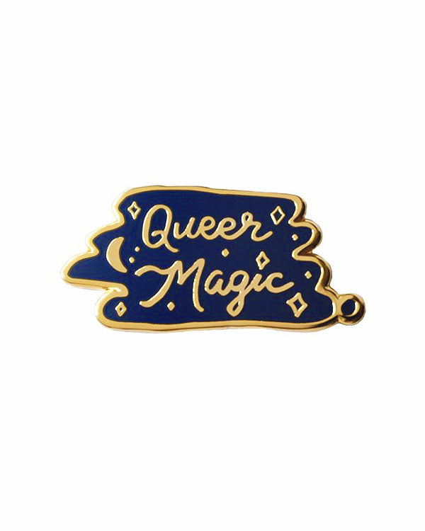 Queer Magic Pin - Navy-Bianca Designs-Strange Ways