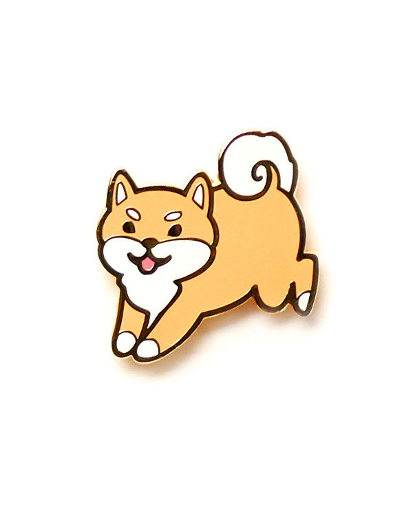 Shiba Pin - Red-Cindy Latte-Strange Ways